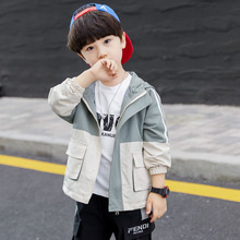 Boys Spring and Autumn Jacket 2019 New Garment for Children 10-year-old Tide Thin wholesale available