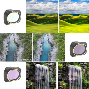 Image 5 - Drone Set Filter UV CPL Polar ND4/ND8/ND16/32 Neutral Density Filters Lens Protector For DJI Mavic Mini Camera Accessories Kit