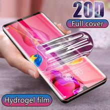 20D Full Cover Hydrogel Film For Huawei P30 Pro Screen Protector film p20 p30 P10 mate 20 10 Lite screen protect
