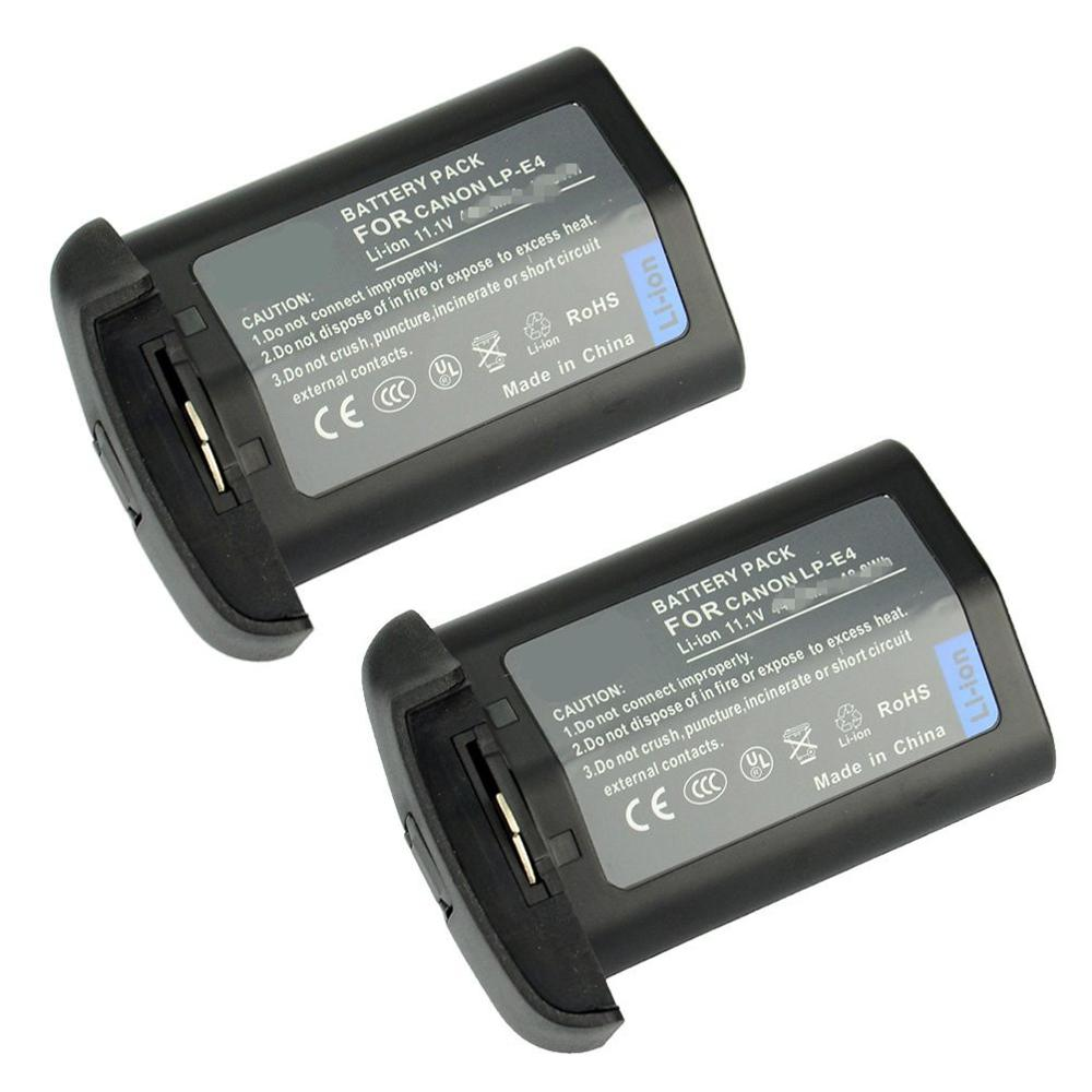 LP-E4, аккумулятор LPE4 для камеры Canon EOS-1D Mark III 1Ds Mark III 1D mark4 DSLR