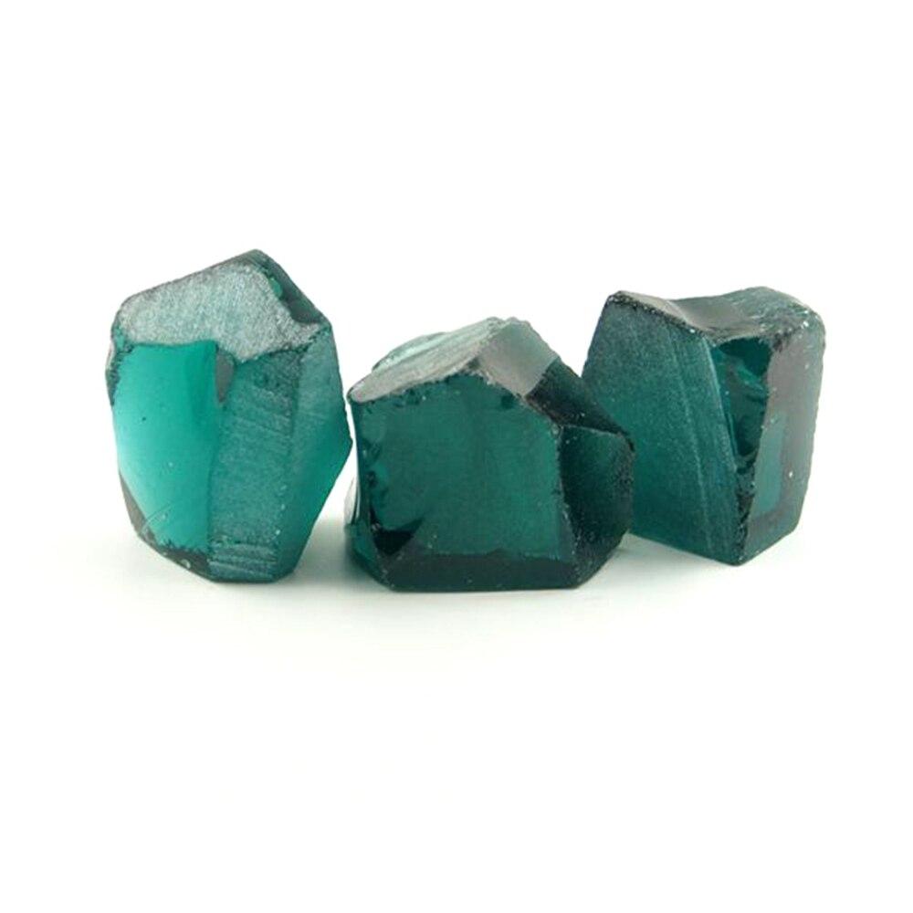 0.2kg /bag Uncut Hydrothermal Paraiba Tourmaline #A75 sital material Laboratory emerald gemstone for jewelry