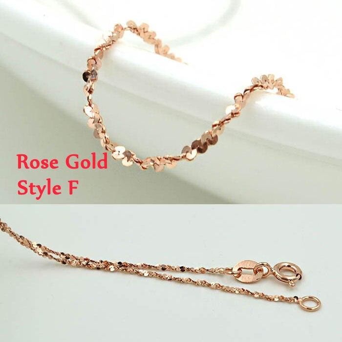 Style F Rose God