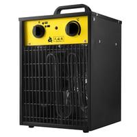 2/3/5/9/15/22KW Industrial fan heater industrial electric IP24 tube heating industrial electric water heater