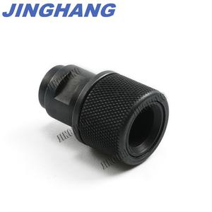 Image 1 - For M8x.75 to 1/2 28 Adapter with Thread Protector Walther Black P22 S&W M&P22