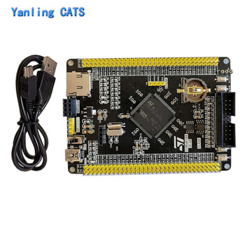 Stm32 Discovery Arm Cortex M3 STM32F103ZET6 Development Board MCU LQFP144 Pin Controller Core Board with USB Cable 1PCS ZL-04 stm32f103zet6 development board discovery stm32 arm cortex m3 lqfp144 pin mcu controller system core board 1pcs zl 04