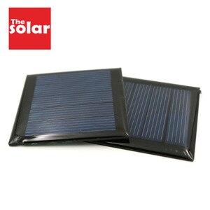 Image 1 - 2 adet 2.5V 110mA polikristal GÜNEŞ PANELI silikon epoksi standart pil güç şarj modülü küçük Mini güneş pili