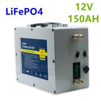 Lifepo4 12v 150ah battery pack lifepo4 12V lithium battery pack built-in BMS for inverter,electric motor of the boat