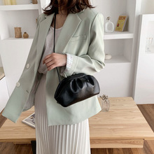 Women Shoulder Bag Candy Color PU Leather Messenger Bag For Women Small Crossbody Bag Travel Chain Handbags and Purses