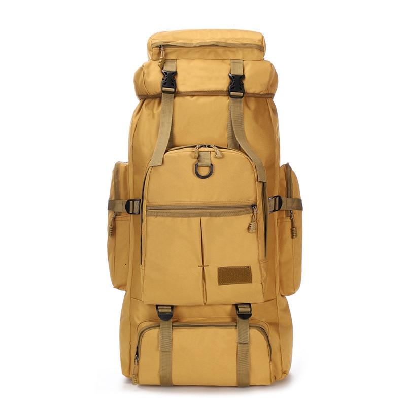 75L Large Capacity Waterproof Backpack Men Travel Bags Luggage Duffel Bag Weekend Bag Outdoors Camouflage Bag Shoulders Backpack