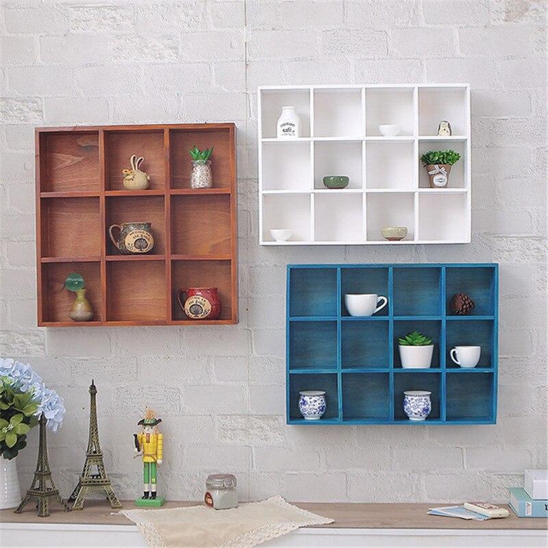 Estantería de pared moderna de 16 rejillas, estantería de almacenamiento para libros, estantería de pared, estantería, estantería de almacenamiento, soporte de productos