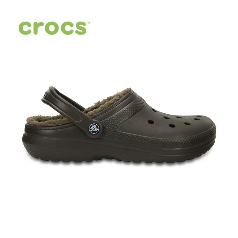 Фото - CROCS Classic Lined Clog UNISEX for male, for female, man, woman TmallFS shoes crocs bistro realtree edge clog unisex for male for female man woman tmallfs