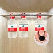 Extendable Bar Wardrobe Adjustable Stainless Steel Telescopic Rustproof Towel Clothes Rail Tension Rod Pole Window Bathroom