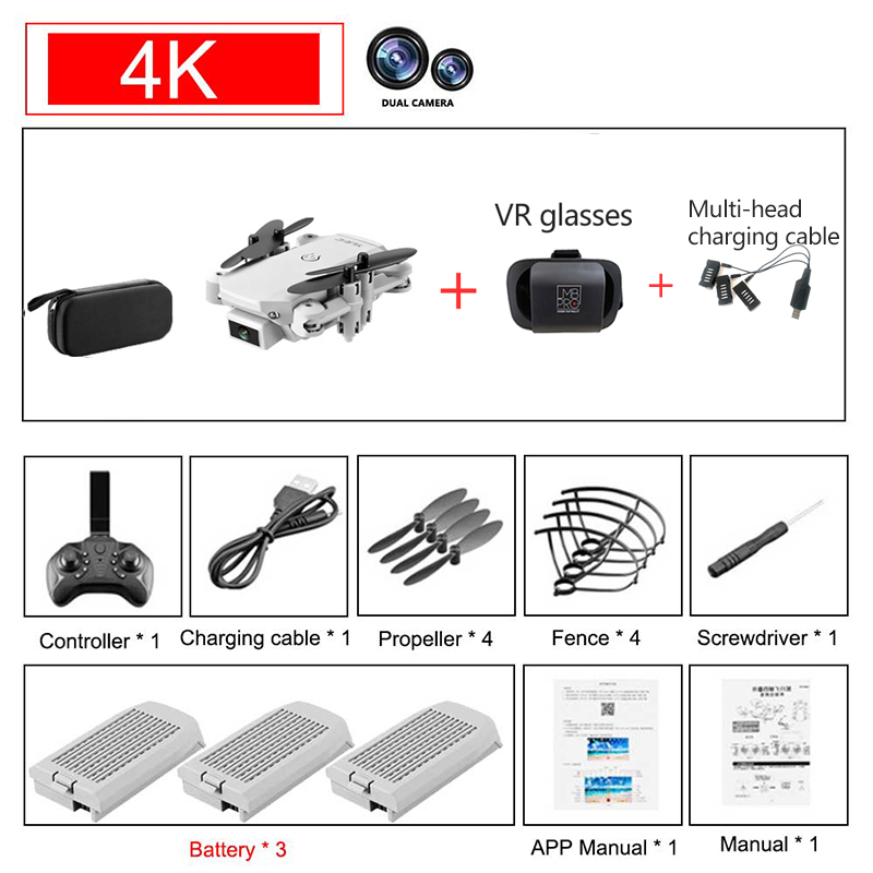 4K 3B VR glasses