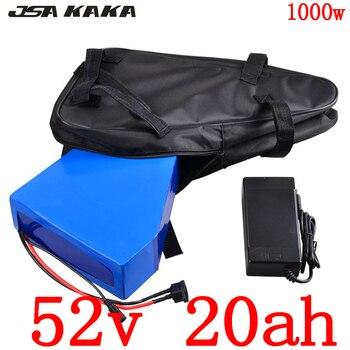 48V lithium batterij 48V 20Ah 52V 20Ah elektrische fiets batterij voor 48V 1000W 750W 500W Motor Bafang BBS03 BBSHD BBS02