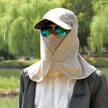 2019 ochronna powłoka chroniąca przed słońcem wędkarstwo suns anti uv daiva ochrona z osłoną na szyję i twarz słońce CapHeadband słońce kapelusz przeciwdeszczowy Cap wędkarstwo piesze wycieczki tanie i dobre opinie Chłopcy