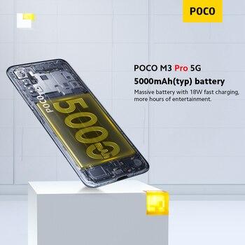 Глобальная версия POCO M3 Pro 5G  700 Octa Core 6 ГБ 5