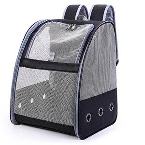 New Black Pet Parrot Backpack