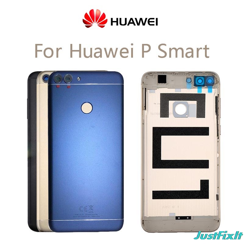 For Huawei P Smart Back Battery Cover Rear Door Housing Case For Huawei Enjoy 7S P Smart Battery Cover With Camera Lens