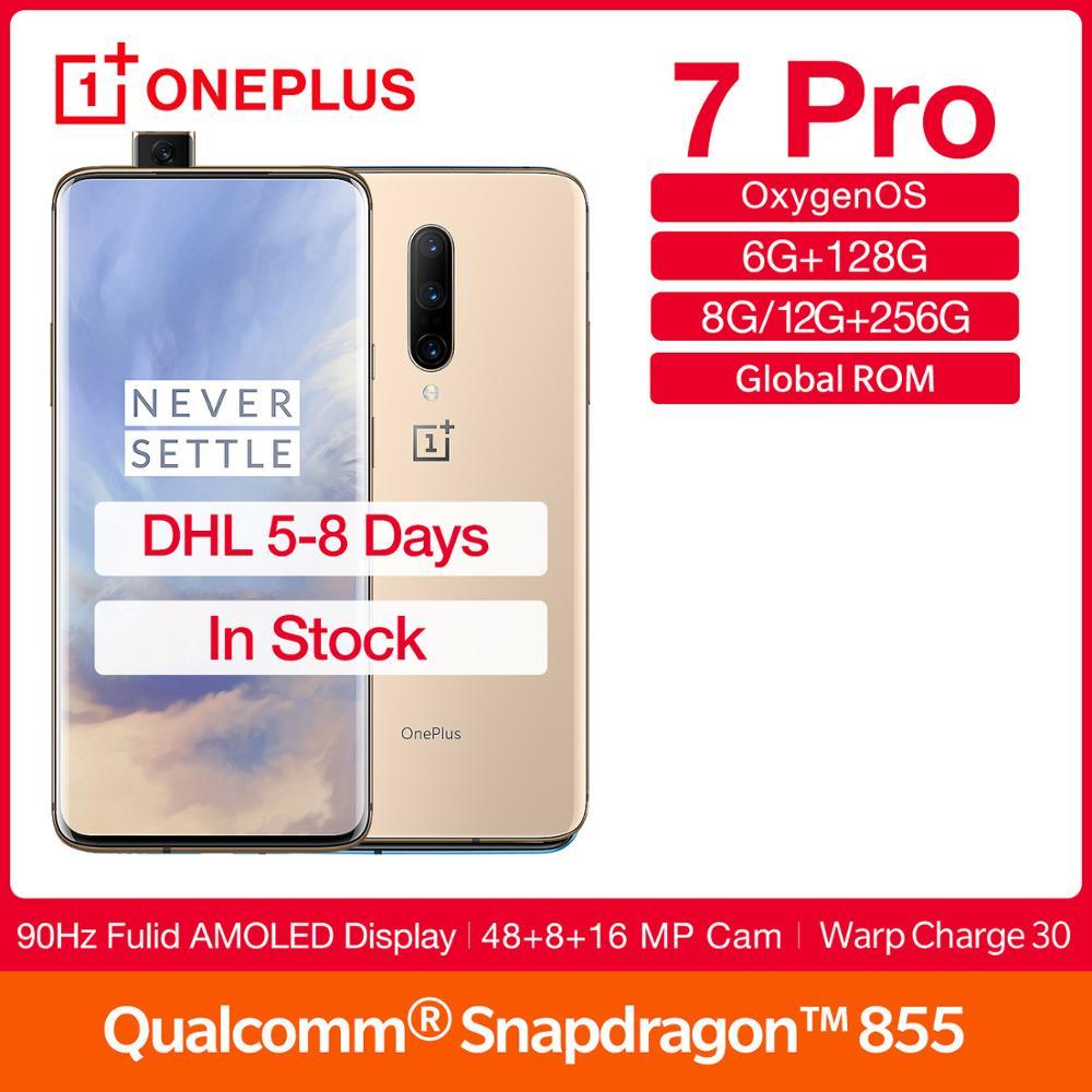 Global Rom OnePlus 7Pro 90Hz Screen Smartphone 6.67
