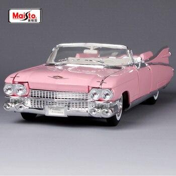 Maisto 1:18 1959 Cadillac ELDORADO BIARRITZ Diecast Model Car Toy New In Box Free Shipping 500K Old Car 36813 maisto 1 18 1950 ford old car model diecast model car toy new in box free shipping 31681