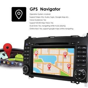 Image 4 - Android10.0 2Din 7 אינץ לרכב נגן DVD עבור מרצדס/בנץ/אצן/W209/W169/ותאנה/ויטו/B200 2GRAM 4 3GWIFI GPS ניווט רדיו מצלמת