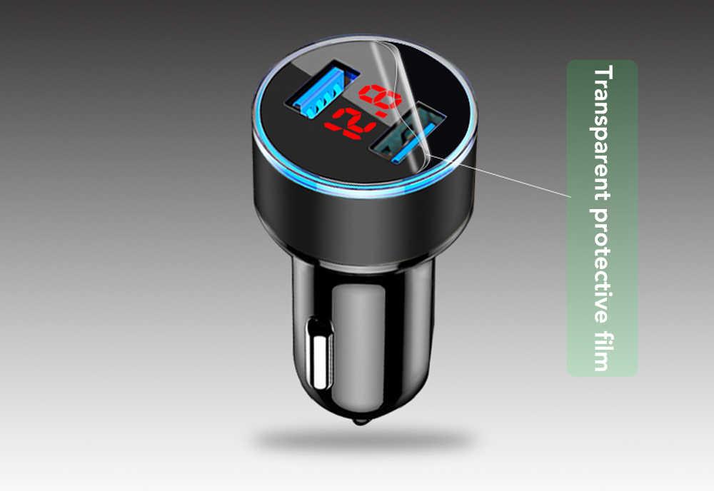 3.1A Charger Mobil Ganda Usb dengan LED Display untuk Kia Borrego Carens Karnaval VQ Jiwa Picanto Sportage Sorento