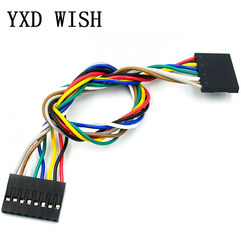 5x 10 Pcs 3P F//F Jumper Wire 20cm Female to Female Cable Wire for Arduino Accs