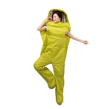 Outdoor Sleeping Bag with Sleeves Men and Women Thick Warm Sleeping Bag for Sports Camping Mountaineering Household Use 4