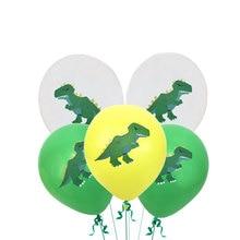 12inch Cartoon Dinosaur Latex Balloon Children Birthday Party Decoration Baby Shower Decoration Party Supplies Helium Balloon 12inch dinosaur latex balloons brachiosaurus pterodactyl raptor balloon baby shower birthday party decoration helium kids toys