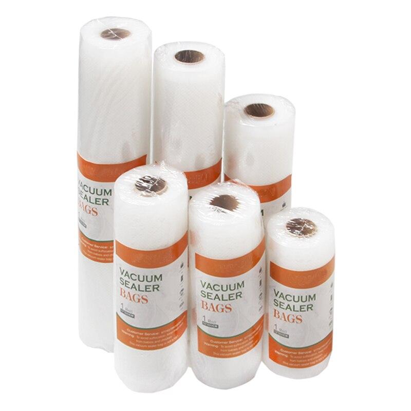 Вакуумный мешок для еды, кухонные пакеты для хранения еды, для вакуумного упаковщика, для сохранения свежести продуктов, 12 \ 15 \ 17 \ 20 \ 25 \ 28cm * 500...