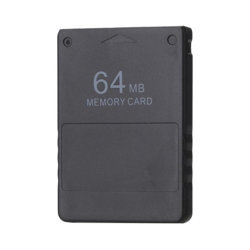 64M Memory Card Storage Card Data Saving Large Capacity Card Save Game Data Stick For <font><b>Sony</b></font> <font><b>Playstation</b></font> <font><b>2</b></font> <font><b>PS2</b></font> Game Accessories image