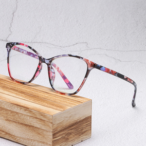 Classic New Cat Eye Design Anti-blue Light Eyeglasses Women Optics Myopia Eye Glasses Classic Vintage Plastic Glasses Computer