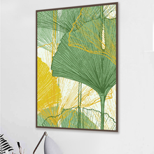 Leaf and Trunk Texture Abstract Wall Art Canvas Poster Print Nordic Decorative Oil Painting on Canvas  Art for Living Room 4-74 abstract colorful texture oil painting on canvas 100