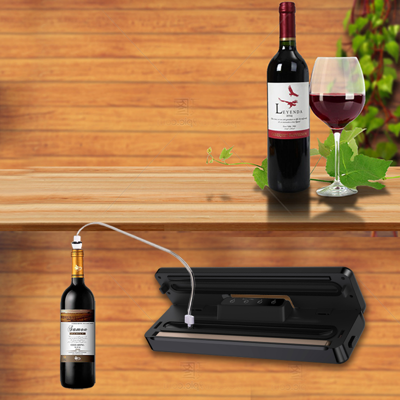 2020 NEW Portable Automatic Mini Household Food Saver Home Hand Held Sous Vide Chamber Plastic Vacuum Sealer