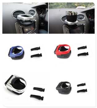 car auto air conditioning vent drink stand water bottle cup holder bracket For Opel Astra g/gtc/j/h Corsa Antara Meriva Zafira image