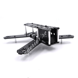 Image 3 - מיני 210mm 210 QAV210 180mm 180 QAV180 טהור סיבי פחמן Quadcopter מסגרת ערכת עבור LS 210 FPV מירוץ Drone