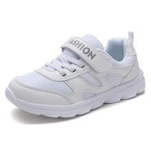 2019 Spring Winter Boy Girl Casual Shoes Children Breathable Non-slip White Toddler Sneakers Kids Girls