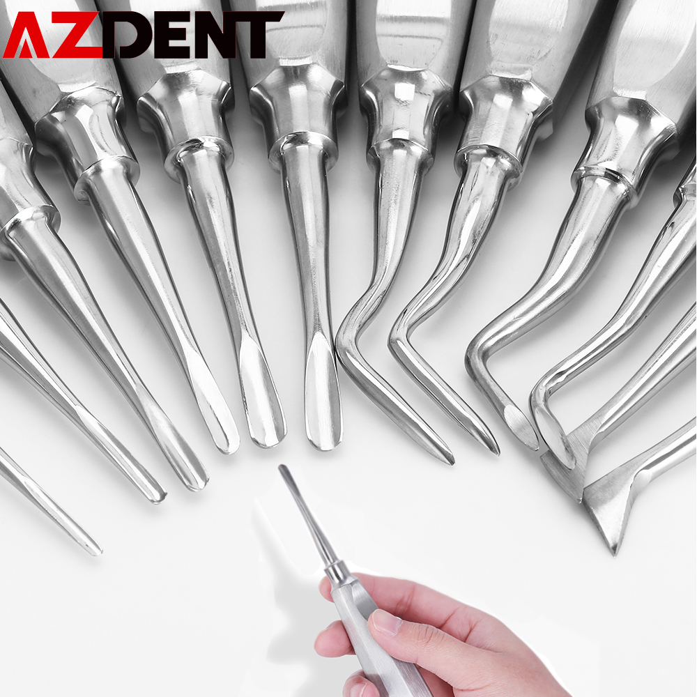 12pcs/pack Dental Stainless Elevator Minimally Invasive Dental Tools Dental Elevator