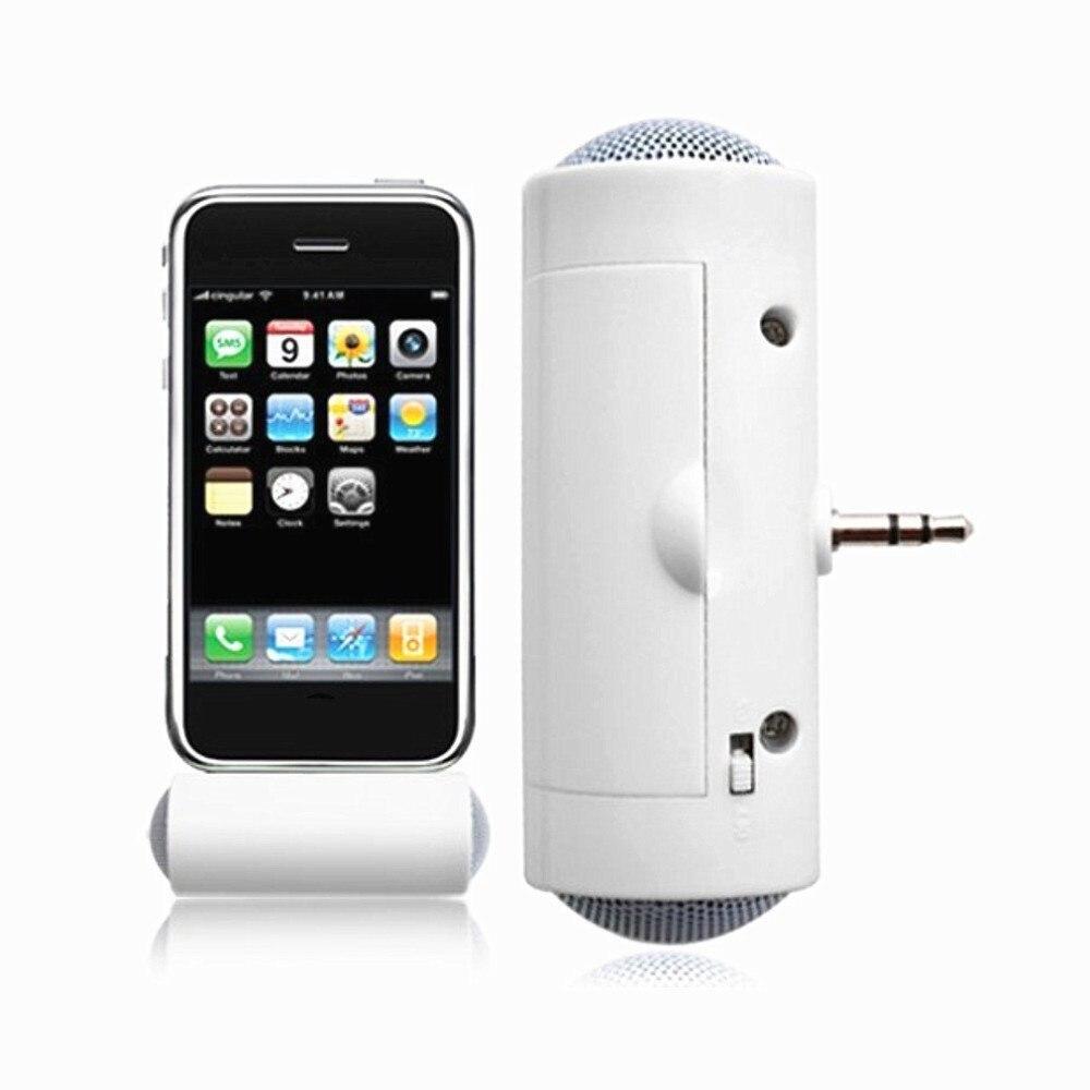 Стерео мини MP3-плеер Усилитель Громкоговоритель для смартфона iPhone iPod, MP3 3,5 мм разъем аудио воспроизведения