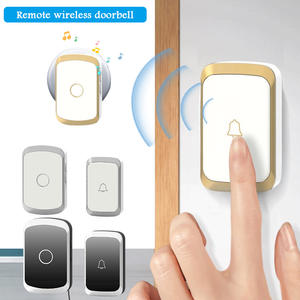 Door-Bell-36 Wireless Remote 300m-Range Home with Led-Flash 1-Button 1-receiver/Us/Eu/Uk-plug