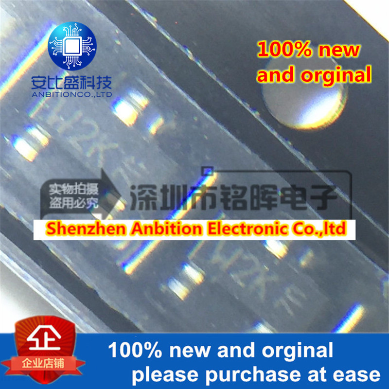 10pcs 100% New And Orginal 2N7002K 2N7002 Sik-screen W2K SOT23 In Stock