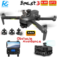 RC EDERS SG906Max 3-Achsen Gimbal Kamera Drone 4K Hindernis Vermeidung 1,2Km 5G FPV GPS Professionelle fern Quadcopter Eders