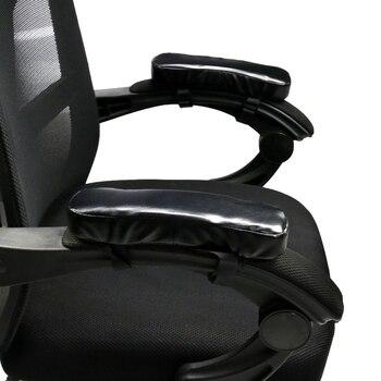 SZS caliente 2 uds silla suave cojín reposabrazos almohadillas de codo almohadillas de apoyo cojín de apoyo para el brazo para la oficina en casa silla decoración alivio de codo