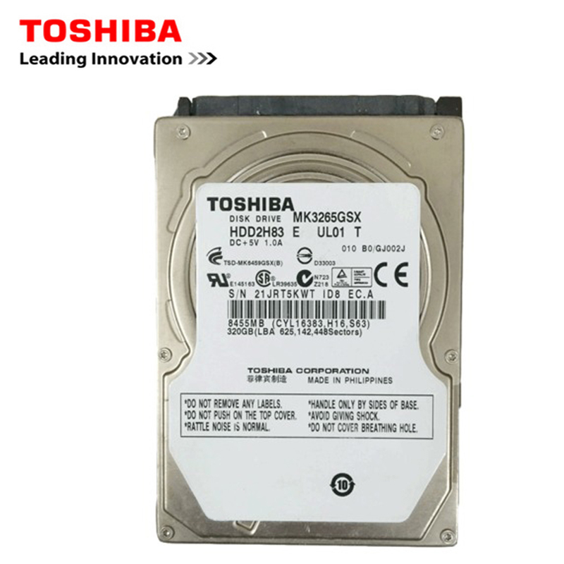 TOSHIBA бренд 320GB 2,5