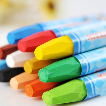 24 colors children's crayons Art stationery oil pastels Painting tool pen crayon kawaii wax crayons for kids cute Education uni colored pencil crayon art drawing crayons school stationery office art supplies oil crayons rip by hand crayon 7600