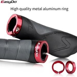 Image 4 - EasyDo 1 Pair MTB Handlebar Grips Ergonomic Design Antiskid Bicycle Grips Accessories