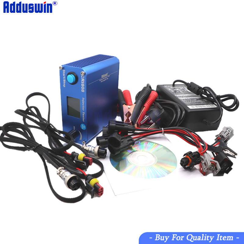 Image 5 - Free Shipping CRI808 Multifunction Diesel common rail injector tester support electromagnetic and piezo bluetooth injector tools-in Engine Analyzer from Automobiles & Motorcycles