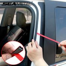 Car Accessories Car Door Seal Strip B Type Auto Door Rubber Sealing Strip Adhesive Stickers Trunk Edge Seals Bumper Trim Strips