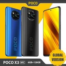 Versión Global Xiaomi POCO X3 NFC teléfono móvil 6GB RAM/128GB ROM Snapdragon 732G 64MP Quad Cámara 6,67