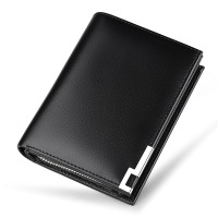 WILLIAMPOLO Mens Wallet Genuine Short Leather Wallets Cowhide Card Holder Coin Pocket Casual Purse 2019 New Design